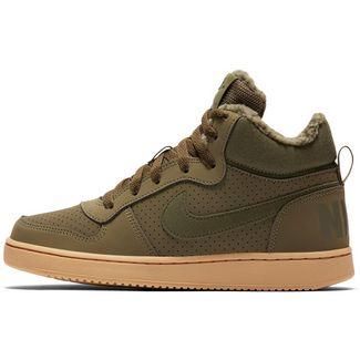 Nike Court Borogh Sneaker Kinder olive canvas-olive canvas-gum lt brown