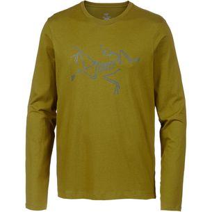 Arcteryx Archaeopteryx Langarmshirt Herren Olive Amber