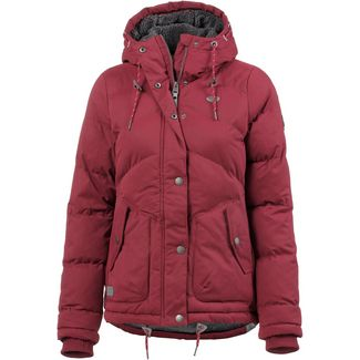 Ragwear Felow Steppjacke Damen wine red