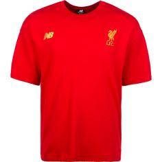 NEW BALANCE FC Liverpool 247 Sport Striker T-Shirt Herren rot