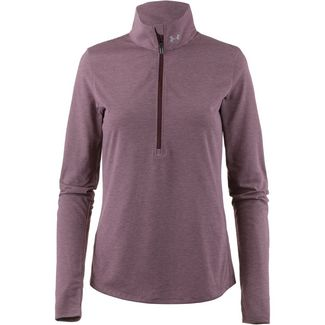 Under Armour Threadborne Streaker Laufshirt Damen dark maroon-dark maroon-reflective