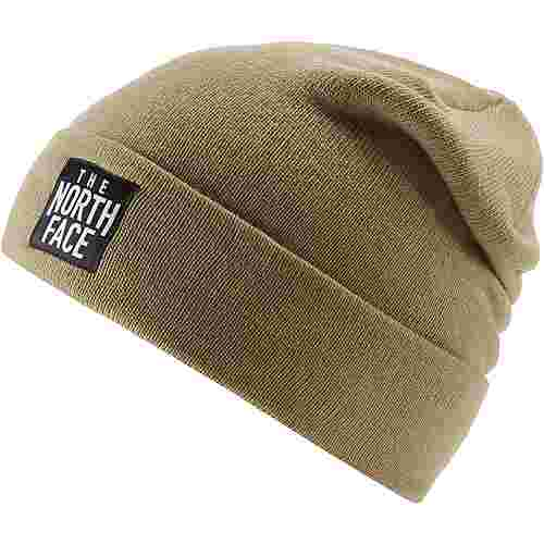 The North Face DOCK WORKER Beanie KELP TAN/TNF BLACK