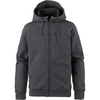 Billabong Quadrant Fleecejacke Herren black heather
