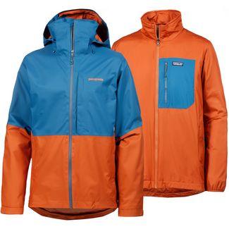 Patagonia 3in1 Snowshot Skijacke Herren big sur blue