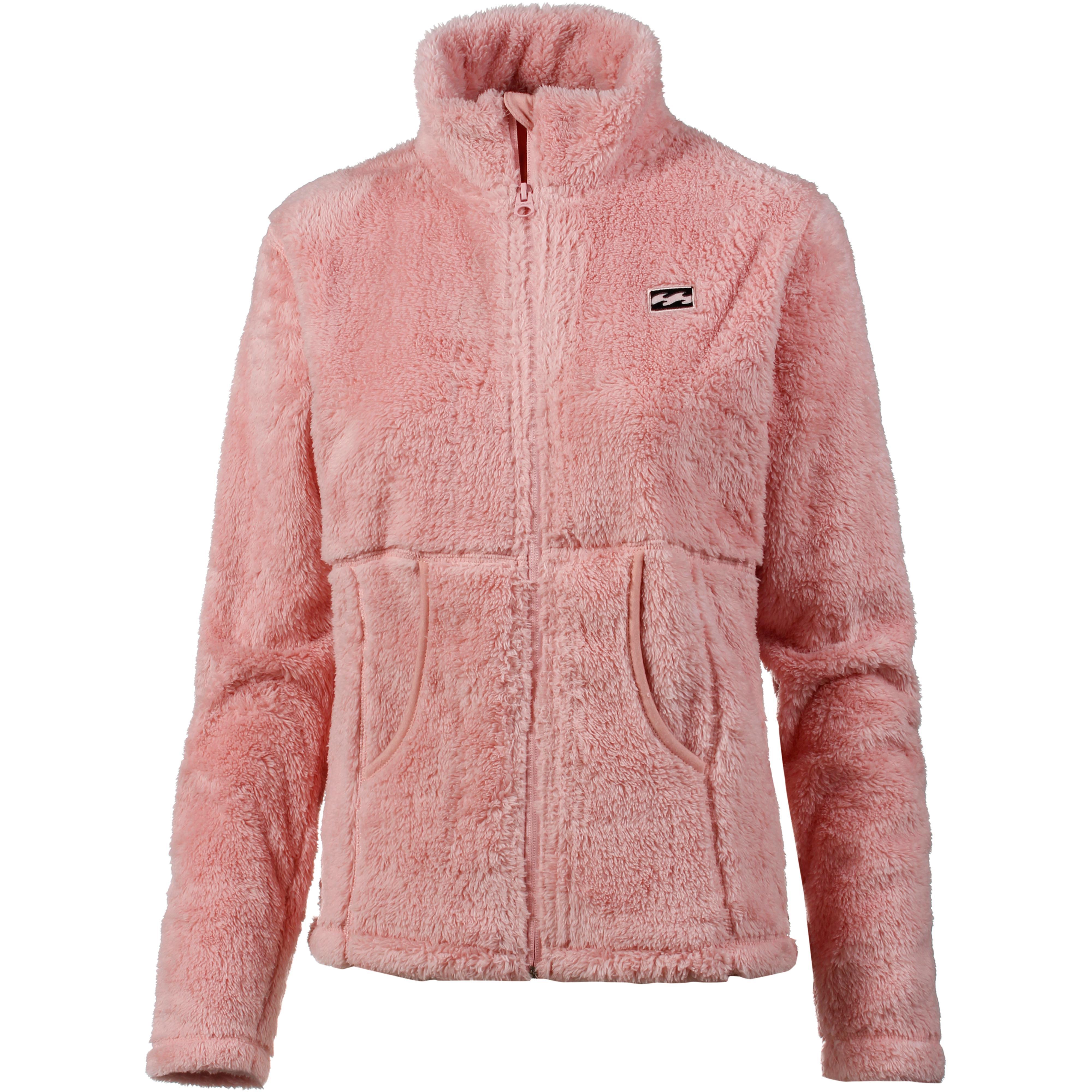 Fleecejacke rosa damen