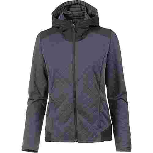 Salomon ELEVATE FZ Fleecejacke Damen BLACK HEATHER