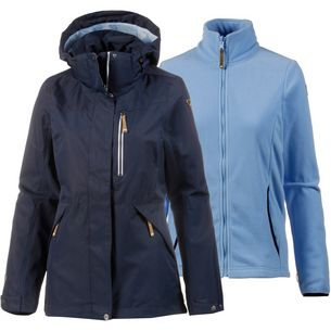 ICEPEAK Tala 3in1 Doppeljacke Damen dark blue
