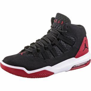 Nike Jordan Max Aura Sneaker Herren black-black-gym red-white