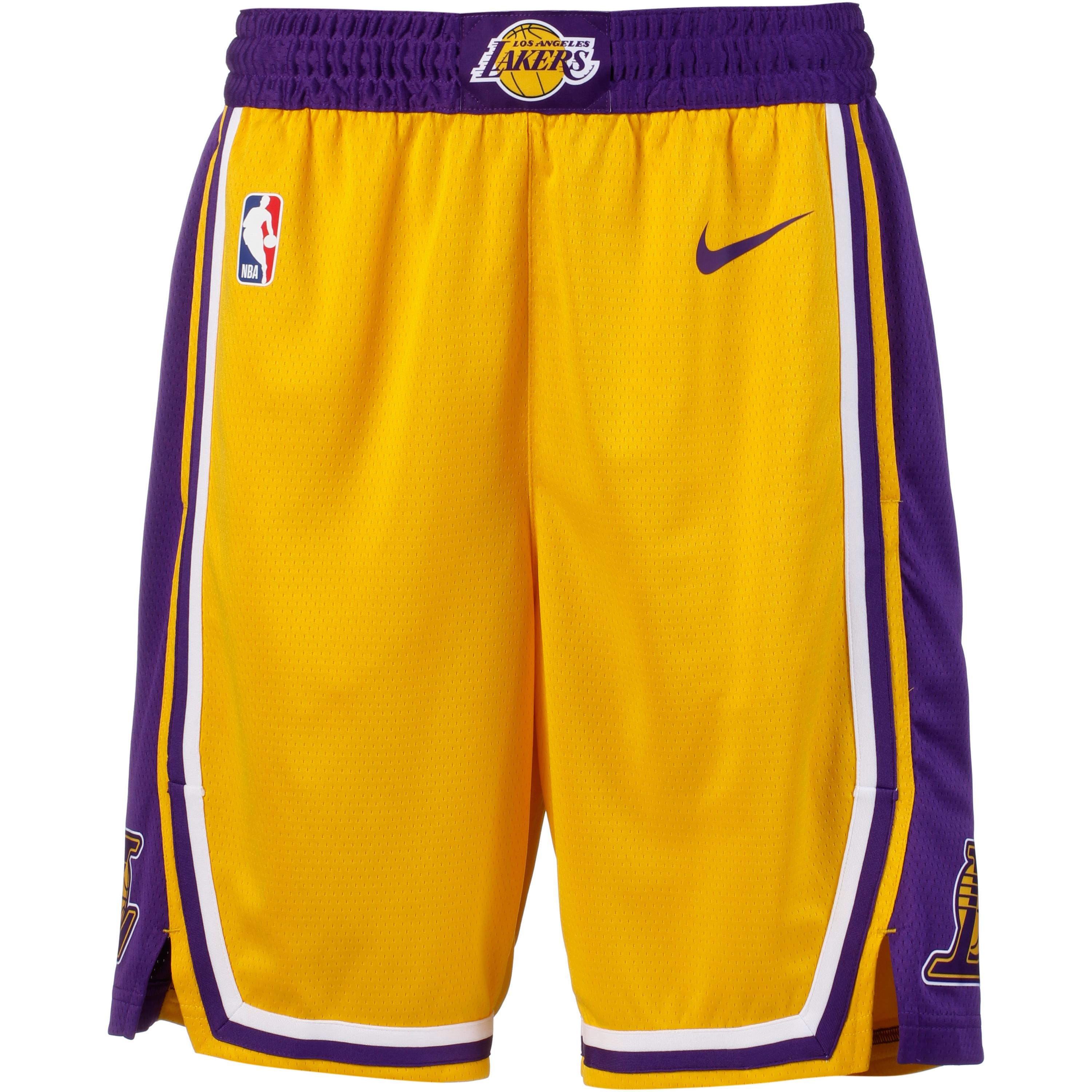 Image of Nike Los Angeles Lakers Basketball-Shorts Herren