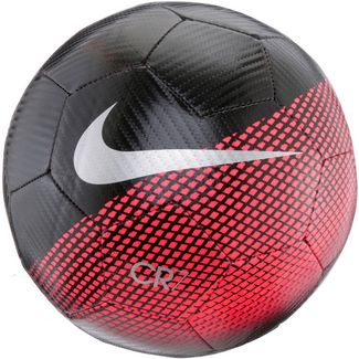 Nike CR7 Fußball black-flash crimson-silver