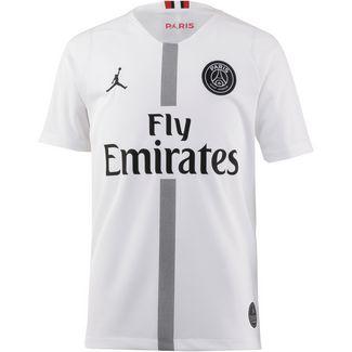 Nike Paris Saint-Germain 18/19 Jordan Fußballtrikot Kinder white-black