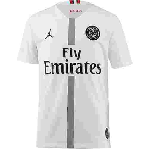 Nike Paris Saint-Germain 18/19 Jordan Fußballtrikot Kinder white-black