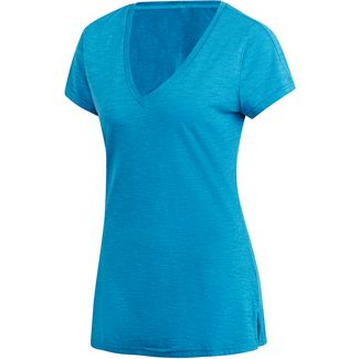 adidas ID Winners T-Shirt Damen shock cyan-legend ink