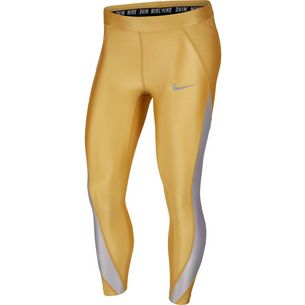 Nike Speed Lauftights Damen club gold/atmosphere grey/reflective silver