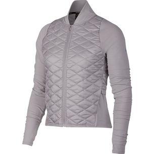 Nike Aeroloft Laufjacke Damen atmosphere grey/vast grey/reflective silver