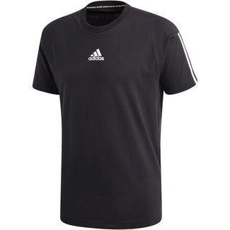 adidas MH 3S Funktionsshirt Herren black-white