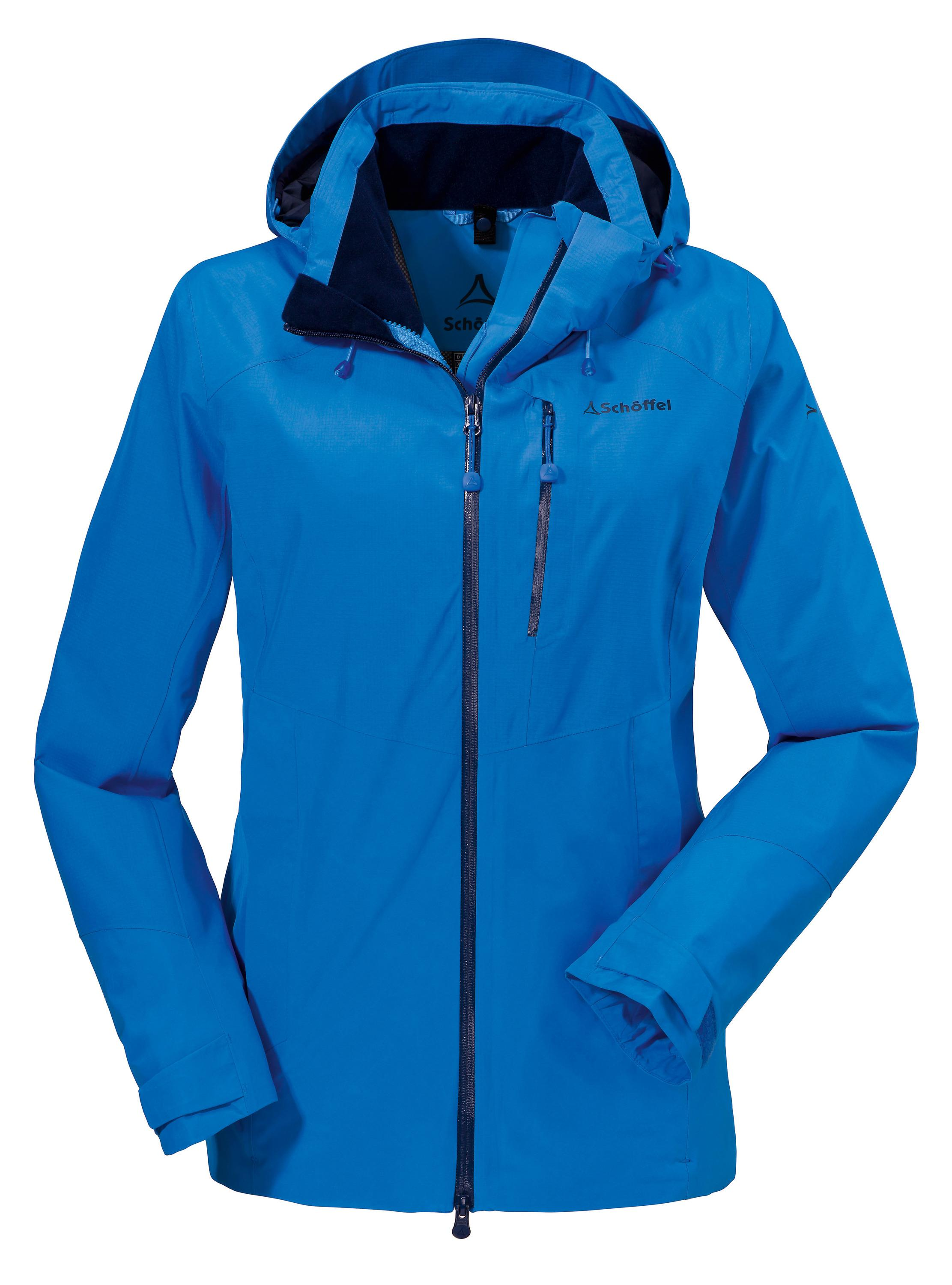 Outdoorjacke damen blau