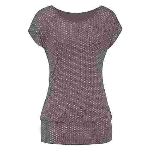 Lascana T-Shirt Damen taupe