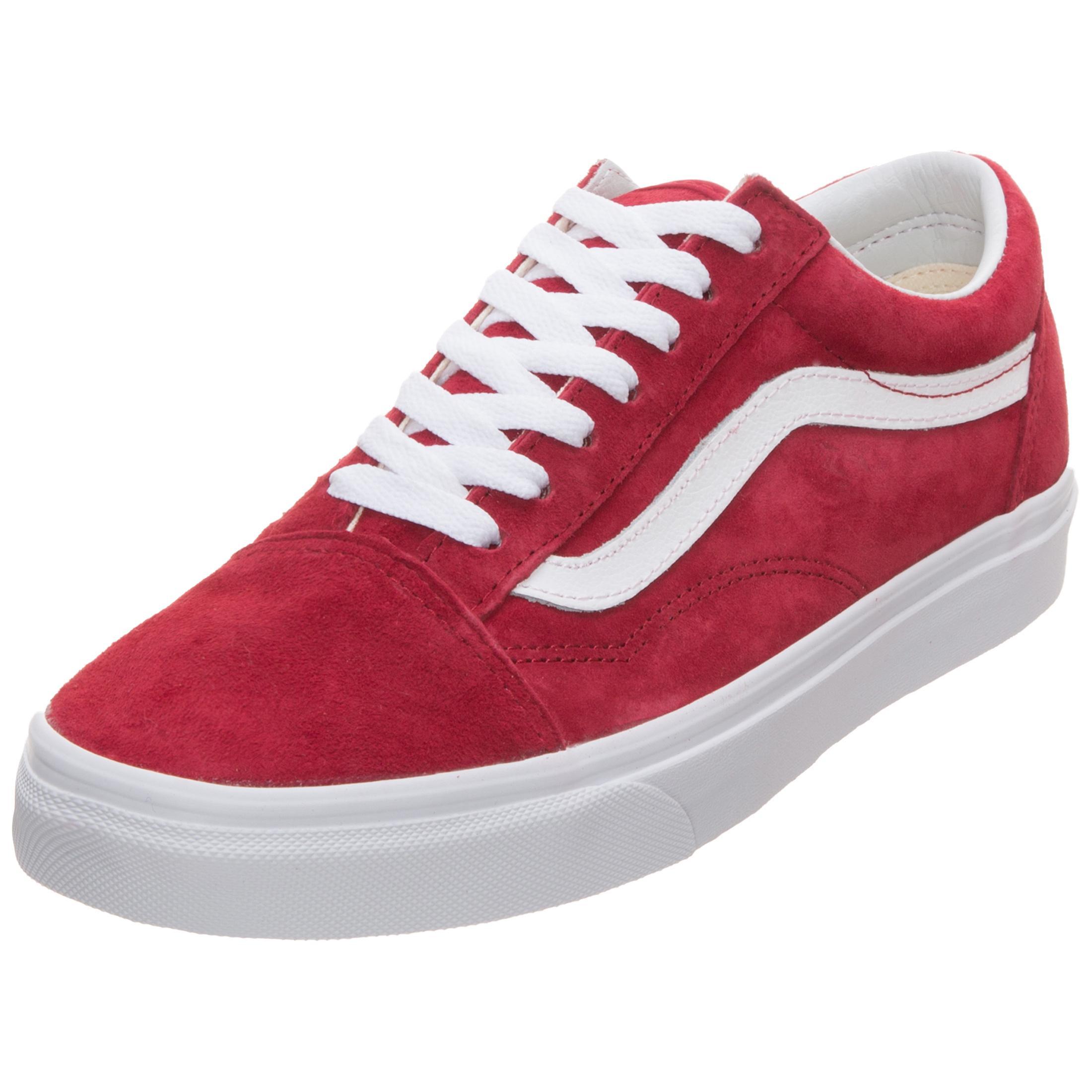 Vans Old Skool Sneaker Damen rot / weiß im Online Shop von SportScheck  kaufen