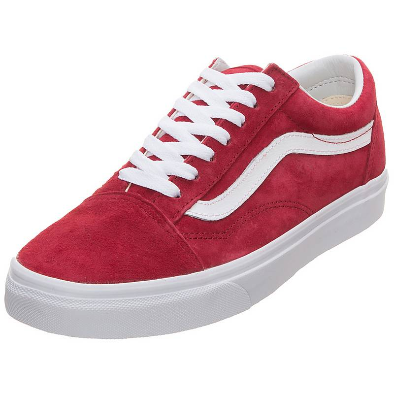 damen vans old skool rot