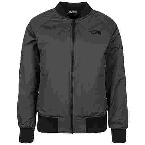 The North Face Insulated Bomber Bomberjacke Damen grau / schwarz
