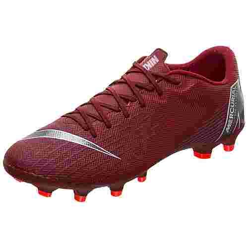 Nike Mercurial Vapor XII Academy Fußballschuhe Herren rot / silber