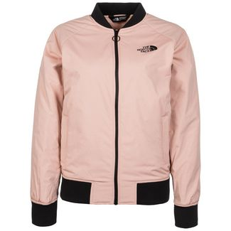 The North Face Insulated Bomber Bomberjacke Damen altrosa / schwarz
