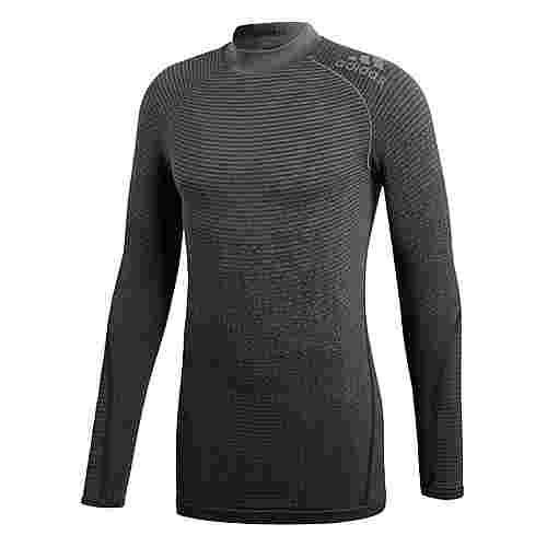 adidas Alphaskin 360 Seamless Longsleeve Langarmshirt Herren Grey Four / Black