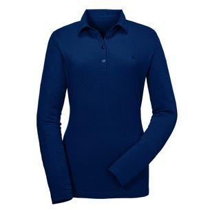 Schöffel La Grave1 Poloshirt Damen blau