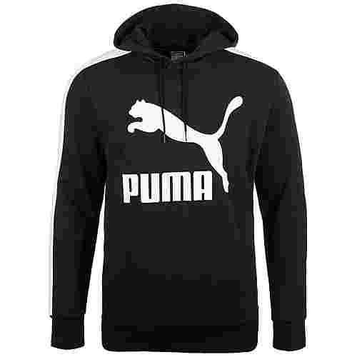 PUMA Classics Logo T7 Hoodie Herren schwarz