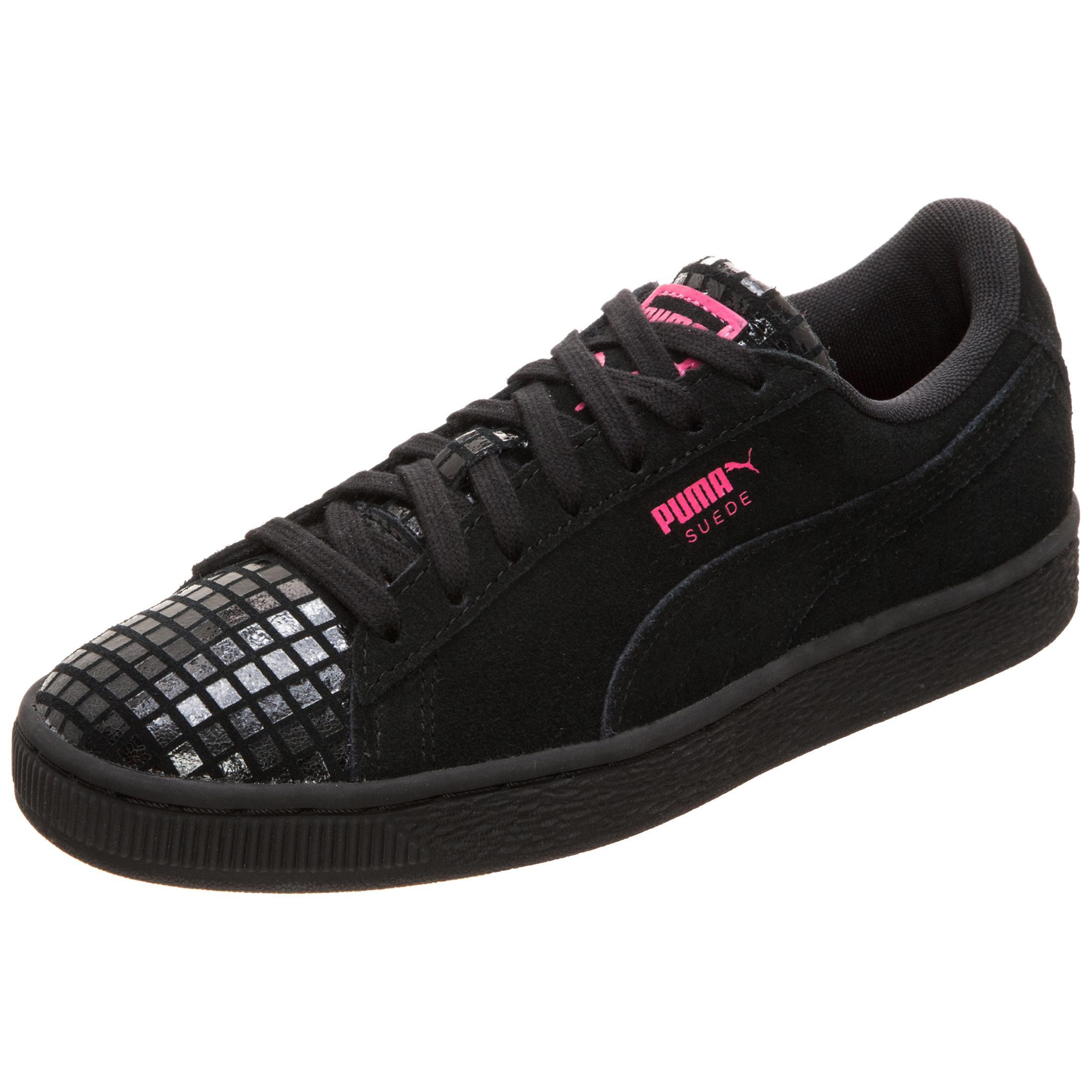 puma suede classic sneaker damen damen damen schwarz pink im online shop von sportscheck. Black Bedroom Furniture Sets. Home Design Ideas