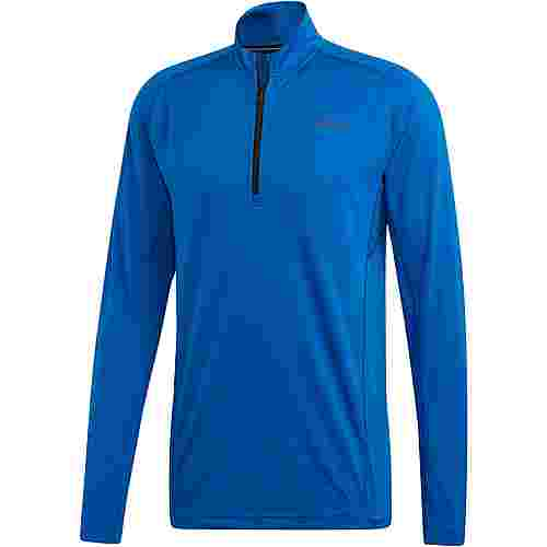 adidas Tracerocker Fleecepullover Herren blue beauty