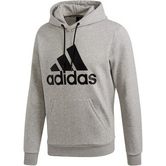 adidas MH BOS Hoodie Herren medium grey heather