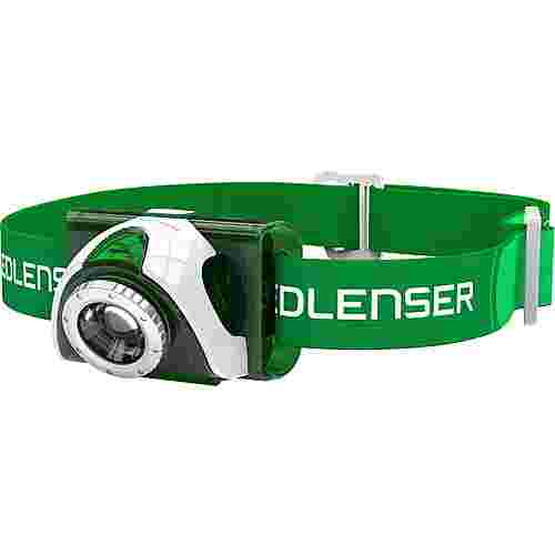 Led Lenser SEO 3 Stirnlampe LED grün