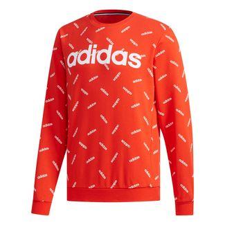 adidas AOP Sweatshirt Herren active red