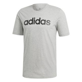 adidas ESSENTIAL LIN T-Shirt Herren medium grey heather