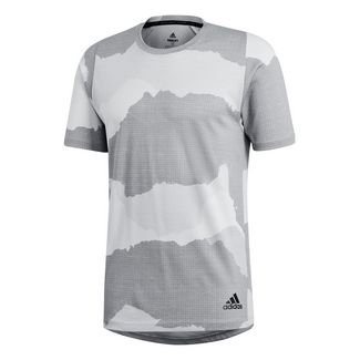 Trainings Funktionsshirts » Training von adidas in weiß im