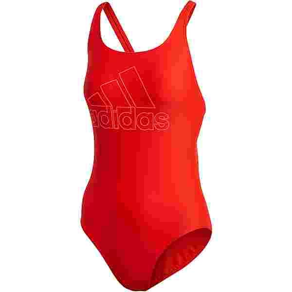 adidas Schwimmanzug Damen active red