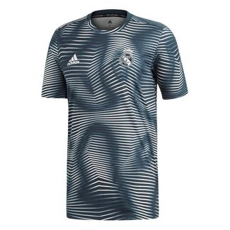 adidas Real Madrid Prematch Funktionsshirt Herren tech onix