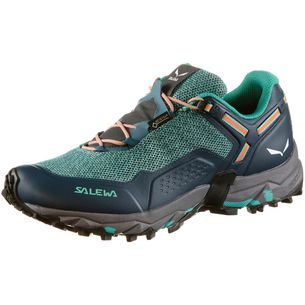 SALEWA WS Speed Beat GTX Multifunktionsschuhe Damen shaded spruce-fluo coral