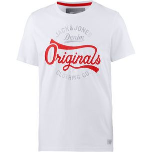 CORE by JACK & JONES T-Shirt Herren white