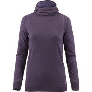 Odlo Warm Unterhemd Damen vintage violet melange