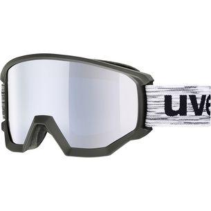 Uvex Athletic FM Skibrille black/white