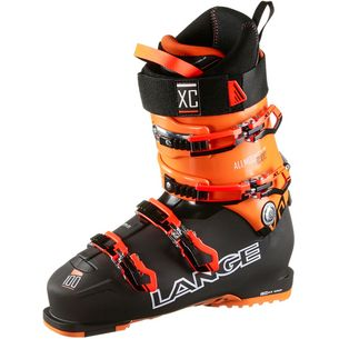LANGE XC 100 Skischuhe Herren black orange