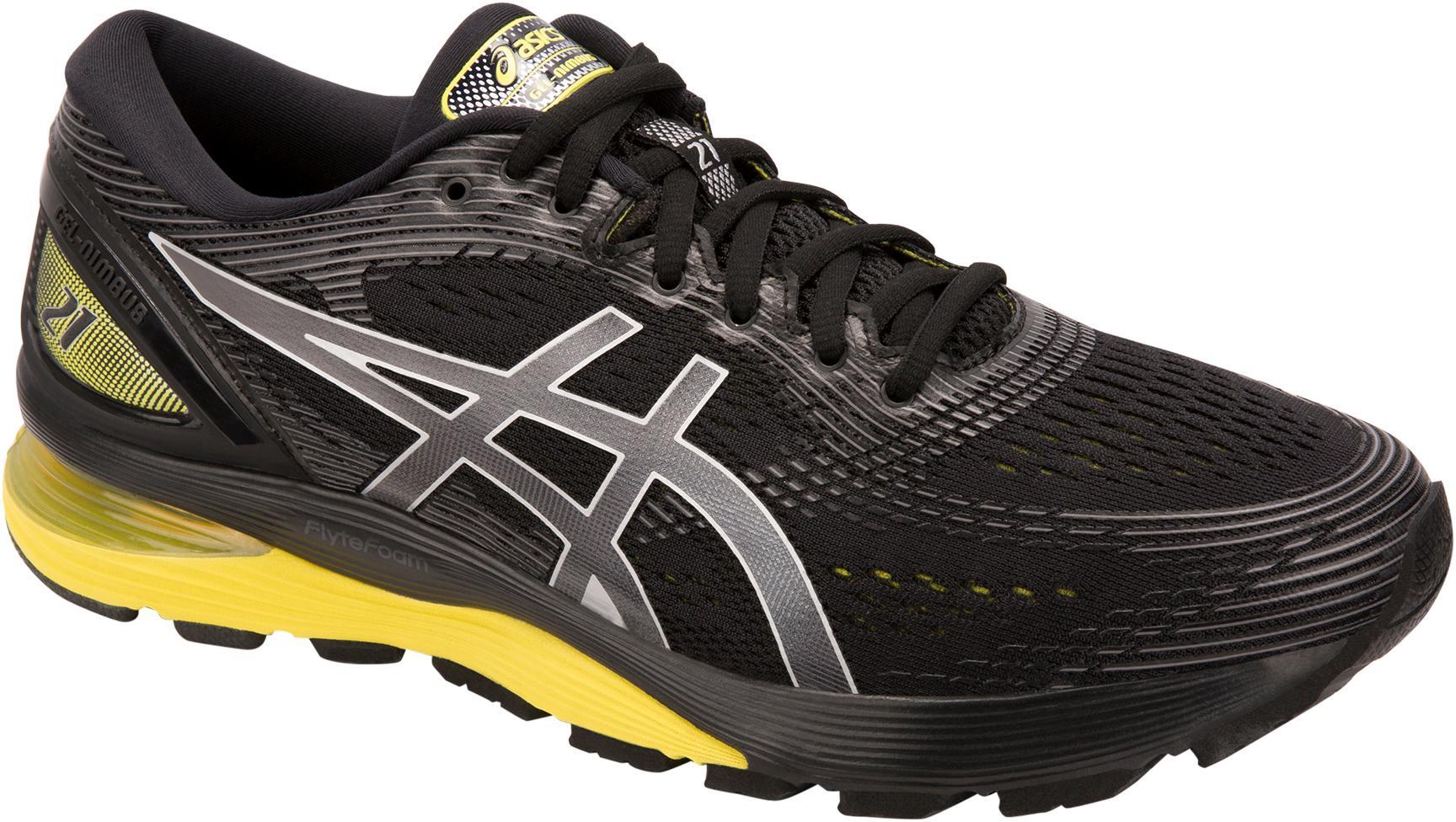 ASICS GEL-NIMBUS 21 Laufschuhe Herren schwarz-lemon-spark im Online Shop von SportScheck kaufen Gute Qualität beliebte Schuhe