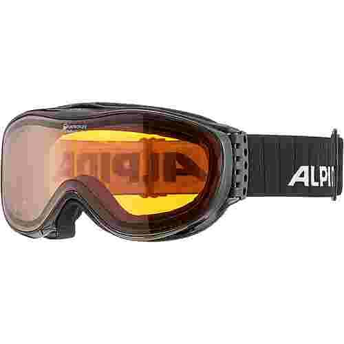 ALPINA CHALLENGE 2.0 QH Skibrille black transparent