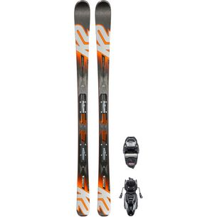 K2 KONIC 76 TI M3 10 COMPACT QUIKCLIK All-Mountain Ski Herren schwarz-orange