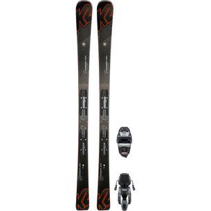 K2 CHARGER XTI M3 11 TCX LIGHT QUIKCLIK All-Mountain Ski Herren schwaz-orange