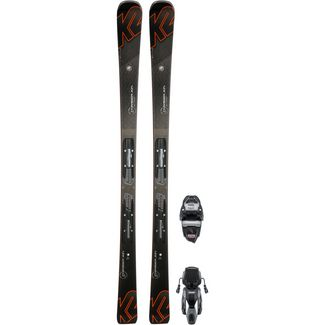 K2 CHARGER XTI M3 11 TCX LIGHT QUIKCLIK All-Mountain Ski Herren schwaz-orange