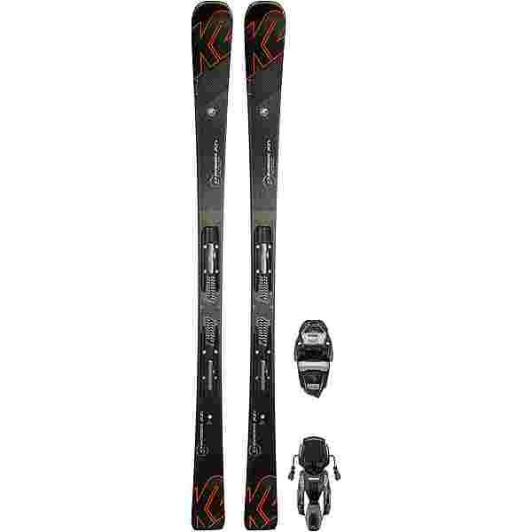 K2 CHARGER XTIM3 11TCX LTQUIKCL. All-Mountain Ski Herren schwarz-orange